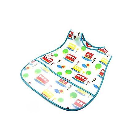 babero de plástico para niños de goma EVA estilo cómic ...
