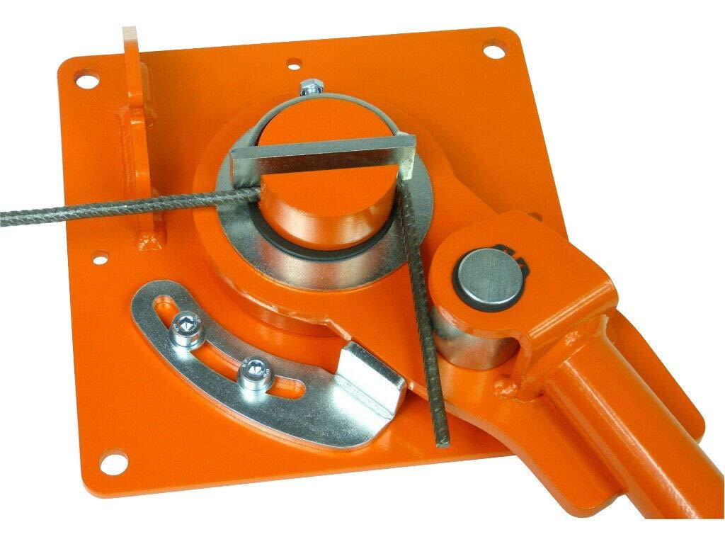 Biegeger/ät GRO-4 Handbiegemaschine Eisen 6-16mm Eisenstangen Biegemaschine