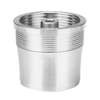 Gosear Filtro Reutilizable Recargable de la cápsula del café del Acero Inoxidable Compatible con el Fabricante