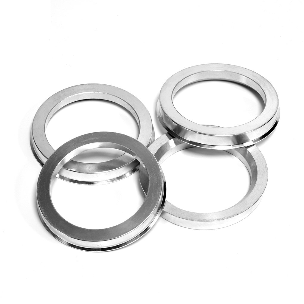 BLOXSPORT Set of 4 Pieces 73.1mm OD to 66.5mm ID Performance Aluminum Alloy Hub Centric Rings