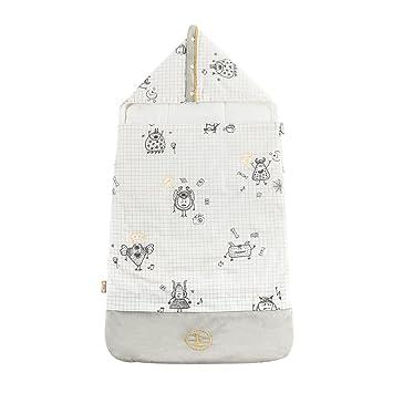 Amazon.com: l-liang colcha de manta de bebé de algodón de ...