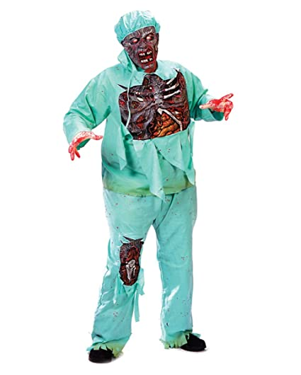 Horror-Shop Traje Doctor Zombie más el tamaño XL: Amazon.es ...