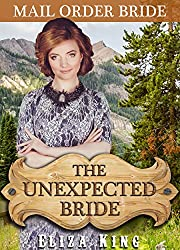 MAIL ORDER BRIDE: The Unexpected Bride and the Eager Shopkeeper: Clean Historical Western Romance (Children of Laramie Book 4)