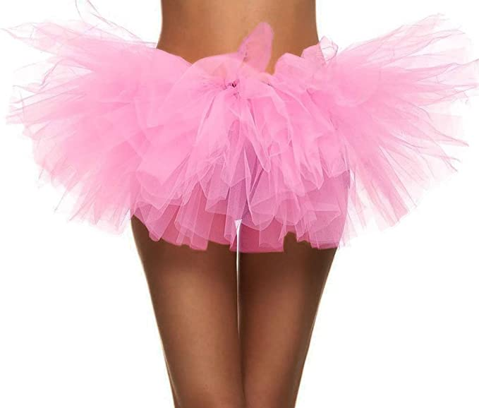 80s Costumes, Outfit Ideas- Girls and Guys Simplicity Womens Classic 5 Layered Tulle Tutu Skirt $12.99 AT vintagedancer.com