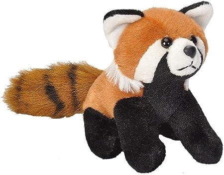 Wild Republic - CK Lil's Peluche panda, 15 cm, color rojo (18113)