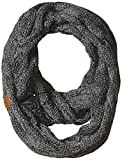 #3: Funky Junque's C.C Beanies Matching Ribbed Winter Warm Cable Knit Infinity Scarf