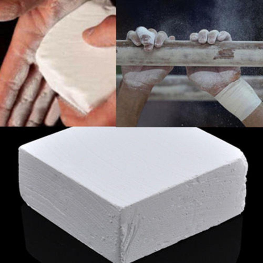 1x Carbonato de Magnesio Tiza para Entrenamiento Gimnasia Escalada 9 x 4,5 cm