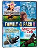 Family 4 Pack, Volume 4: The Wild Stallion / Summer Of The Monkeys / The Impossible Elephant / Summer Of The Colt