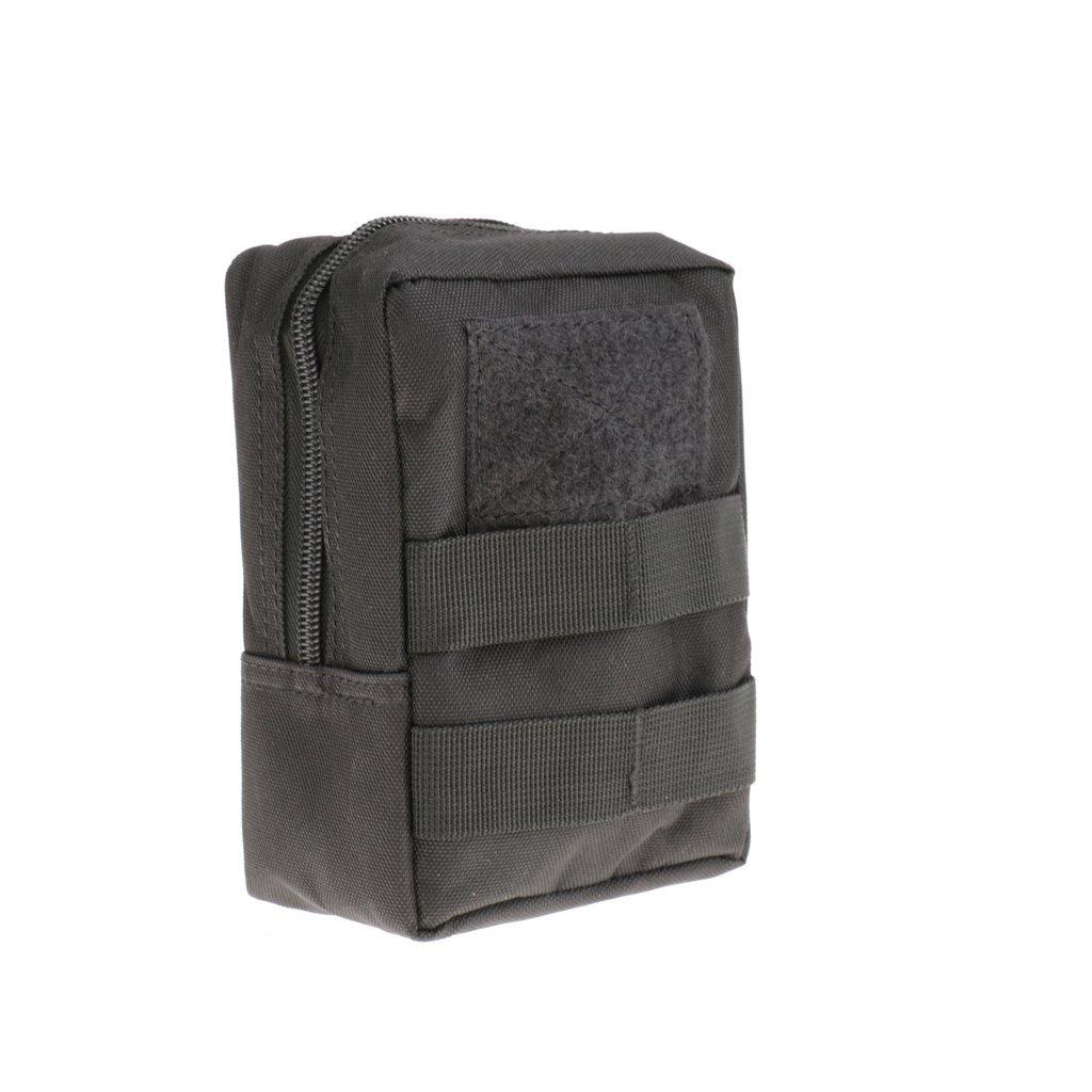 MagiDeal Pacchetto della Vita della Tattica Esterna Molle Cintura Utility Fanny Pack Pouch per Trekking Arrampicata Caccia