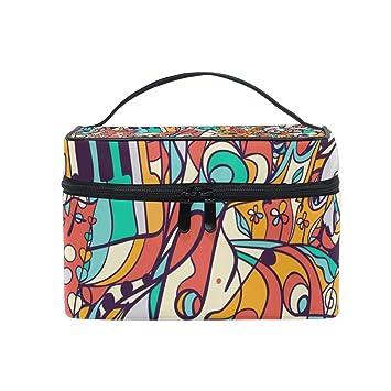 Amazon com : IMOBABY Colored Music Symbols Makeup Organizer