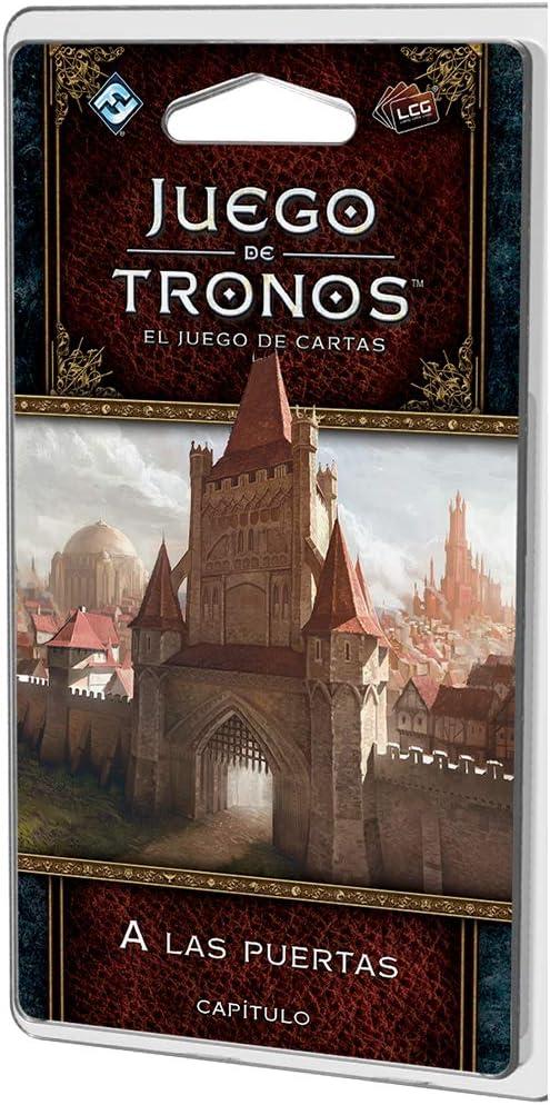 Fantasy Flight Games Juego de Tronos LCG A las puertas (Asmodee GT46ES): Amazon.es: Juguetes y juegos