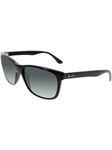 f6e537b2c9c Image Unavailable. Image not available for. Color  Ray Ban RB4181 Sunglasses -601 71 Black ...