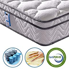 Vesgantti Sleeping- we are always trying to provide better service and product for all our customers with better price. Every mattress is elaborately designed to offer comfort and support and pressure for the demand of all your families.The ...