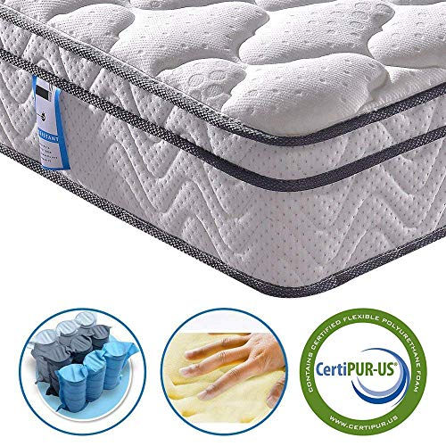 Vesgantti 10.2 Inch Twin Multilayer Hybrid Mattress