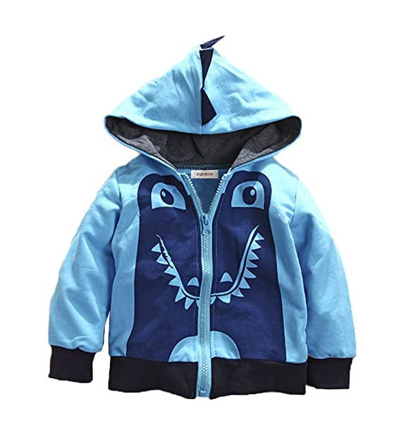 39133111fbd9 stylesilove Young Kids Boy Cute Animal 3D Hoodie Jacket (80 18-24 Months