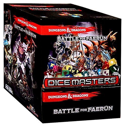 Gravity Feed Box - Dice Masters Dungeons & Dragons Battle for Faerun - Gravity Feed Booster Box