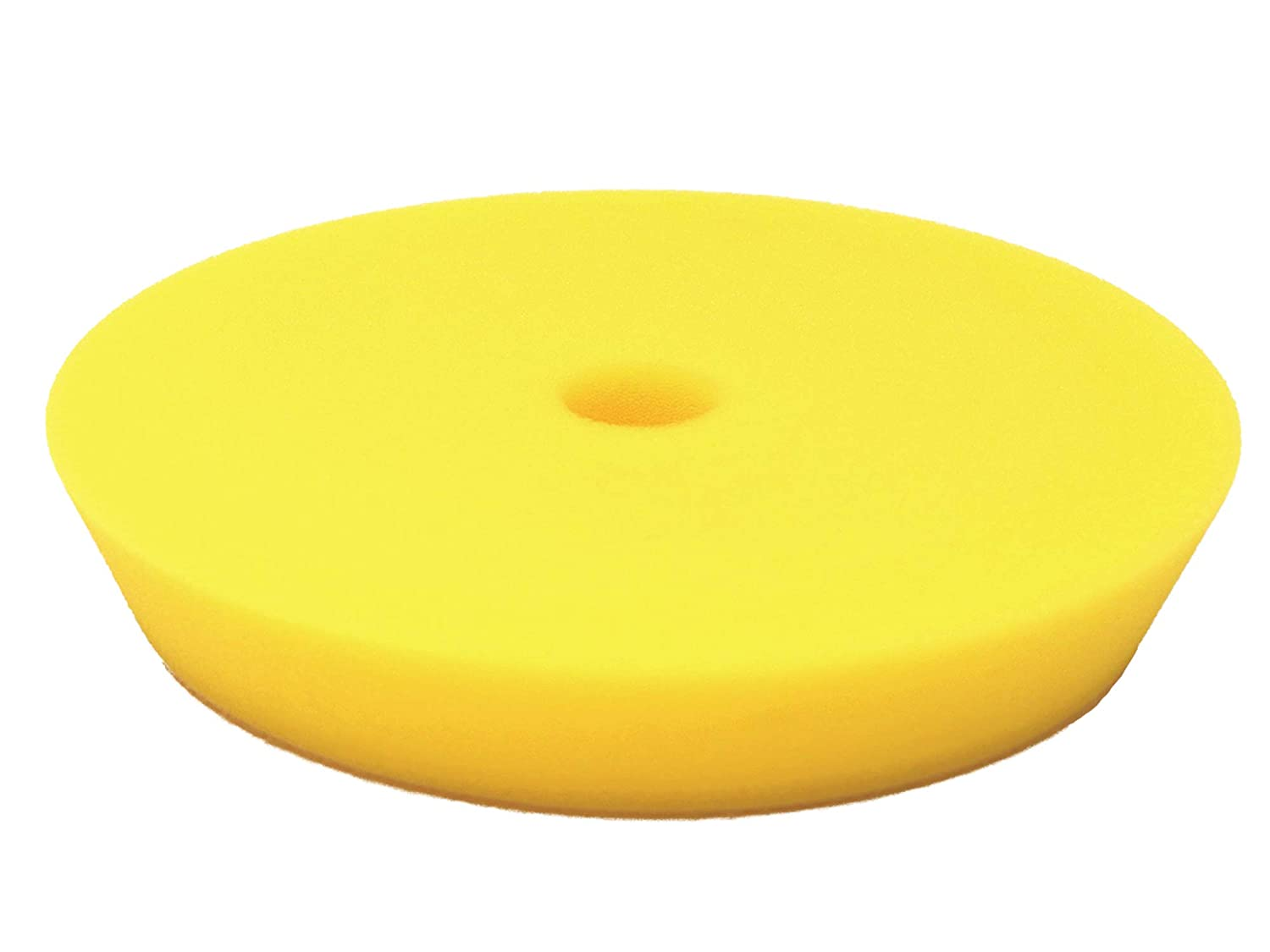 Rupes Yellow Fine Foam Polishing Pad 6 Face for 5 Backing Plate 2 Pack