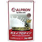 アルプロン -ALPRON- ホエイプロテイン チョコレート風味 3kg アルプロン