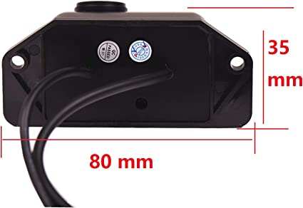 Rear Reversing Backup Camera Rearview License Plate Replacement Camera Night Vision Ip69k Waterproof for Mitsubishi Lancer-ex//Lancer//Lancer Evo//Evolution GSR//Evolution//Fortis iO GT//Galant Fortis
