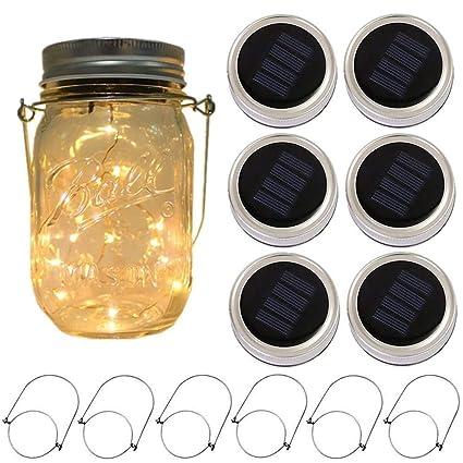 Amazon.com: frascos de conserva con luz de energía ...