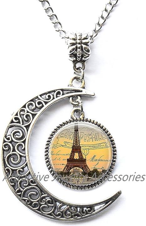 Travel Locket Necklace Paris Locket Pendant Paris Locket Necklace Tower Locket Necklace Glass Locket Pendant Locket Necklace Paris Jewelry,Travel charm Paris Locket Necklace Simple Locket Necklace