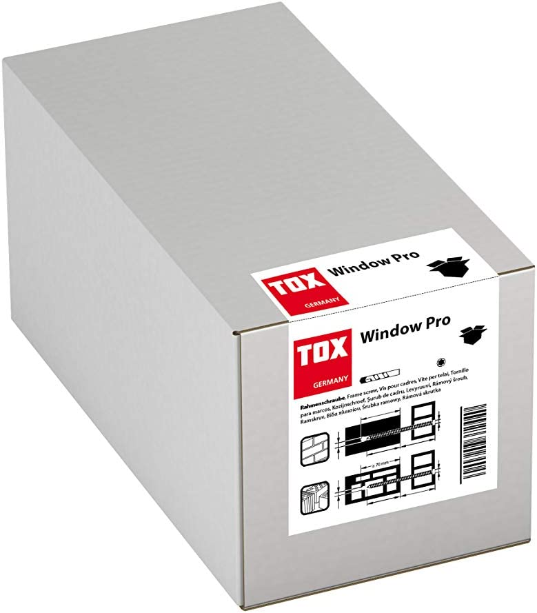 galvanised Pack of 100 TOX Window Pro SK 7.5 x 152 mm 09110141 7,5x152 mm