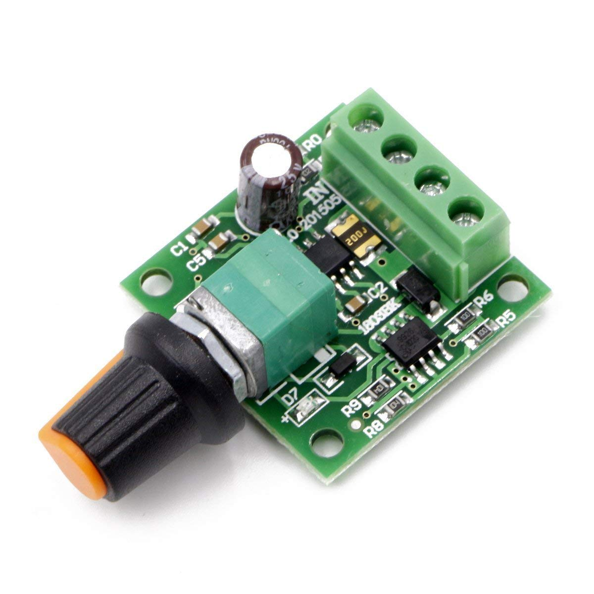 Low Voltage Dc 1.8v 3v 5v 6v 12v 2a Motor Speed Controller PWM 2PCS