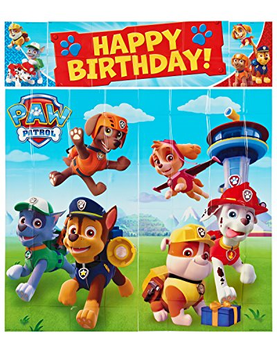 [Paw Patrol Wall Decorations, Giant 5 Piece Set] (Paw Patrol Costumes Skye)