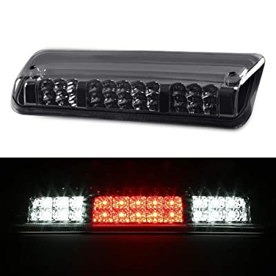 High Mount 3rd Third Brake Light Clear Lens Black Housing Tail Rear For Ford F-150 Explorer F150 2004-2008: Automotive
