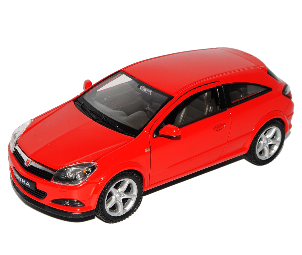 Welly Opel Astra H GTC Rot Coupe 2005-2010 1/24 Modell Auto mit individiuellem Wunschkennzeichen Modellcarsonline