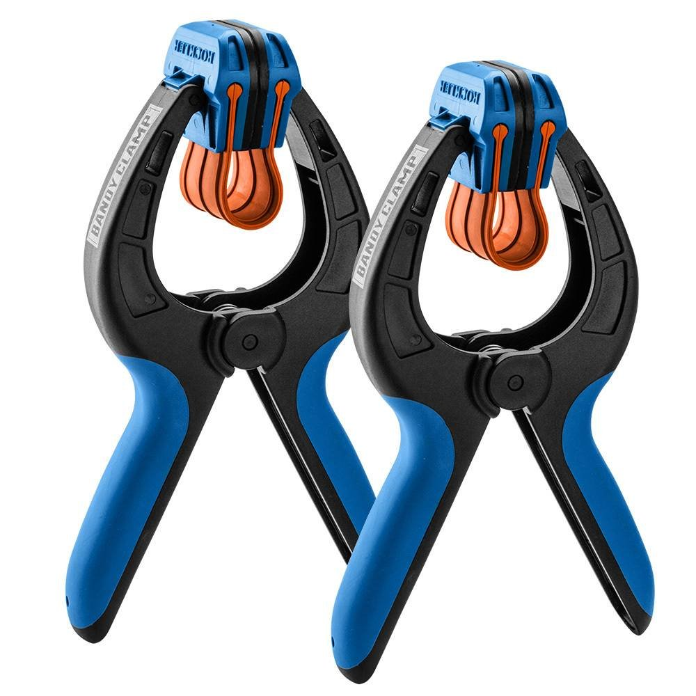Large Rockler Bandy Clamps, Pair