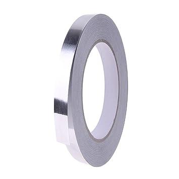 Cinta Adhesiva De Papel De Aluminio Plateado Para ReparacióN De HVAC, Conductos, Aislamiento, Secadores, 10 Mm X 30 M: Amazon.es: Bricolaje y herramientas