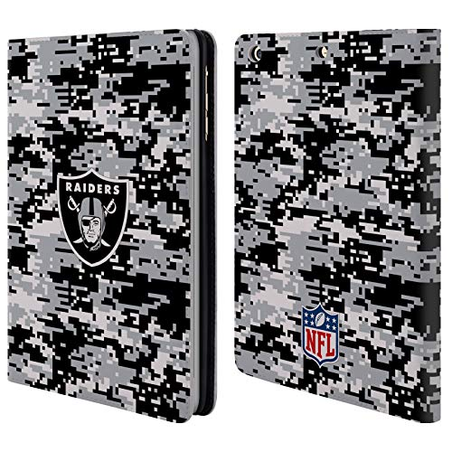 Official NFL Digital Camouflage 2018/19 Oakland Raiders Leather Book Wallet Case Cover for iPad Mini 1 / Mini 2 / Mini 3