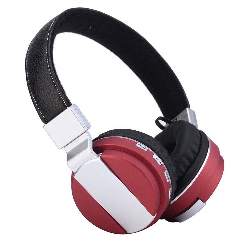 KUAW Over-Ear Adjustable 3.5mm Earphone BT4.1 Stereo Headset Headphone for MP3//iPhone Android Phones Free Shipping