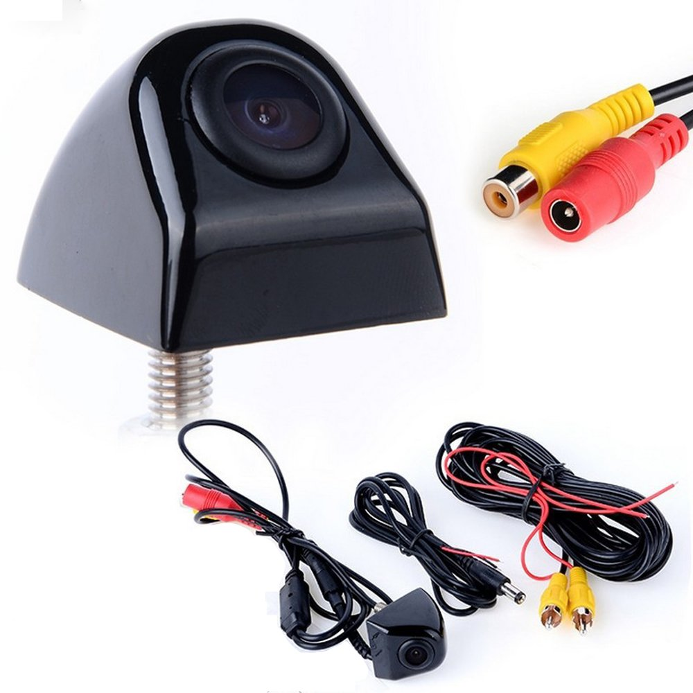 lexxson防水高定義カラーワイド視野角ライセンスプレートCar Rear Viewカメラ7赤外線ナイトビジョンLED ブロンズ RZ325B B07717N83Z  RZ325B