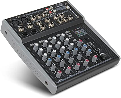 Amazon.com: Entrada de línea M8 8 canales EQ de 3-bandas ...