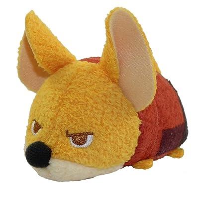 """Disney Tsum Tsum Zootopia Finnick 3.5"""" Plush [Mini]: Toys & Games"""