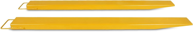 Bestequip Pallet Forks Extensions Steel Pallet Forks 96 Inch Forks Extensions für Forklift Lift Truck(96 Inch)