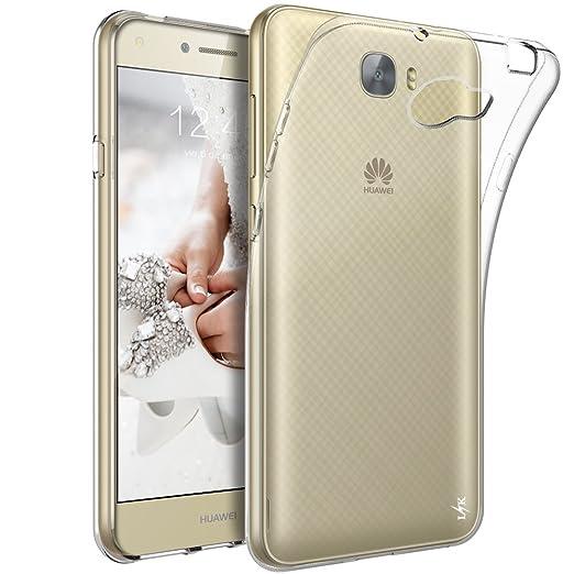 8 opinioni per Custodia Huawei Y6 II Compact, LK Case in Morbido Silicone di Gel Antigraffio in