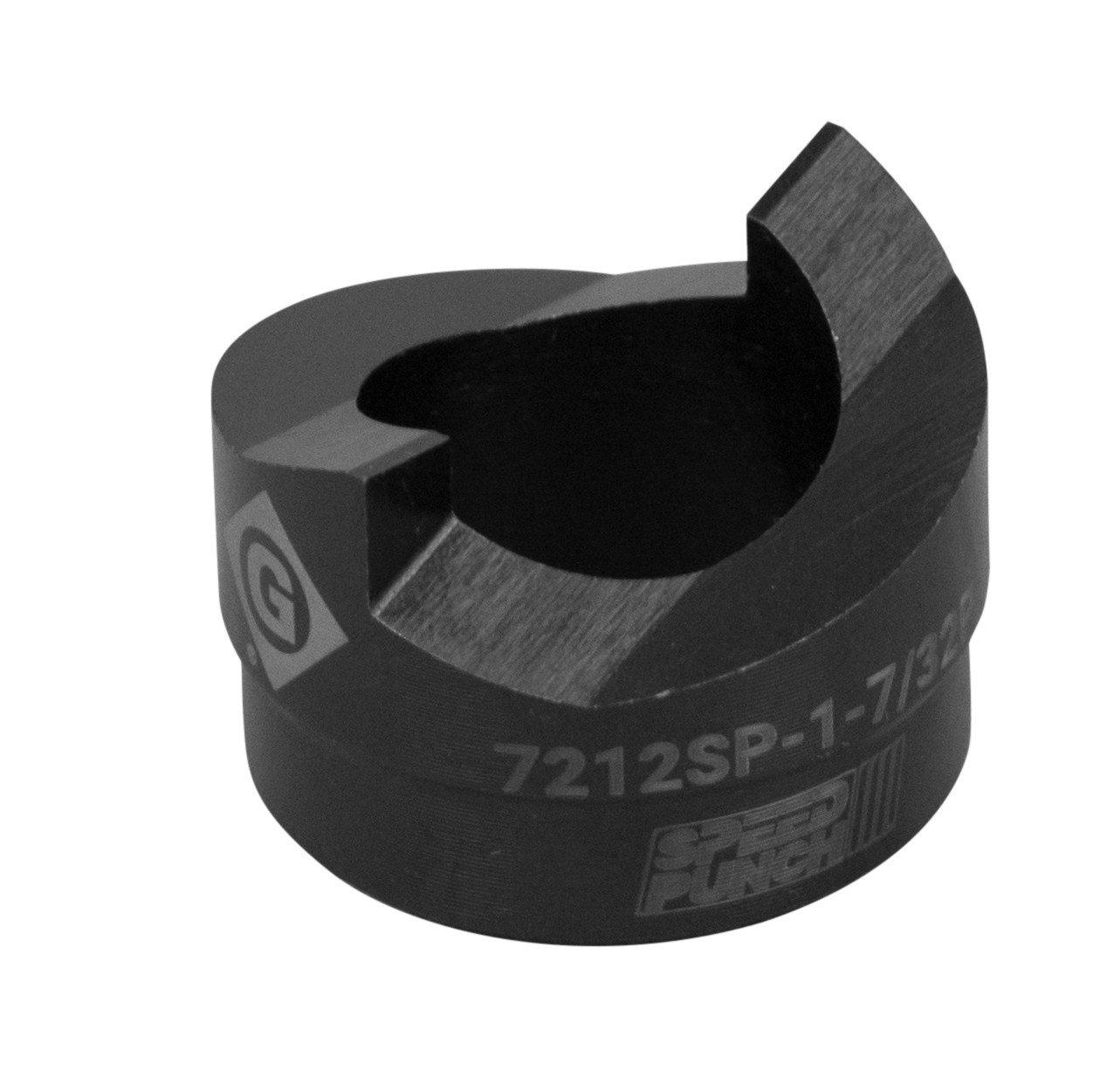 Greenlee Speed Punch 7212SP-1-7/32P, 1-7/32-Inch Round Punch (30.5 MM), Mild Steel