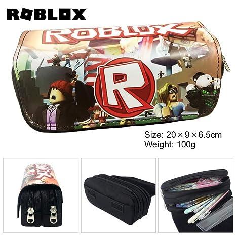 ROBLOX mundo virtual con doble cremallera de lona caja de ...