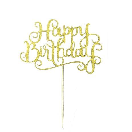 happy birthday in calligraphy writing happy birthday calligraphy  happy birthday in calligraphy writing amazon com 20pcs new glitter paper happy birthday letters cake