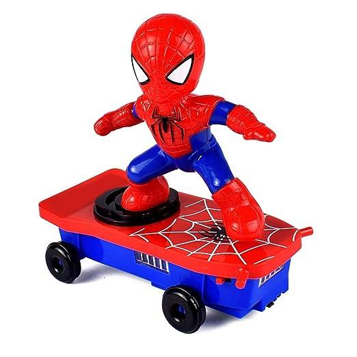 Reuvv Infantil Eléctrico Acrobacia Juguete Automática Spider-Man ...