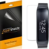 [6-Pack] Supershieldz- Anti-Bubble High Definition Clear Screen Protector For Samsung Gear Fit + Lifetime Replacements Warranty - Retail Packaging