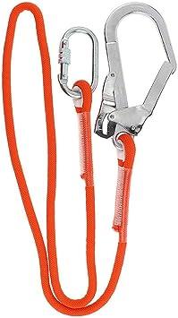 Cordón de posicionamiento de restricción, cuerda de protección contra caídas de certificación CE, cordón de absorción de energía con gancho de ...