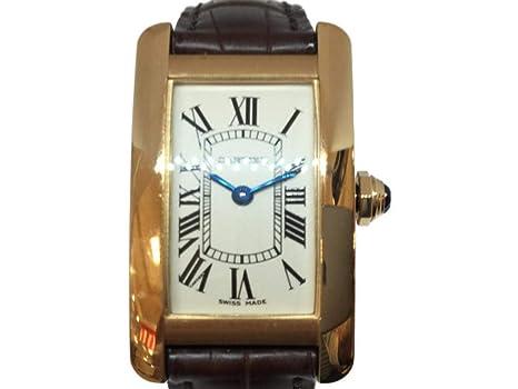 check out f3000 6a758 Amazon | [カルティエ] Cartier タンクアメリカンSM レディース ...