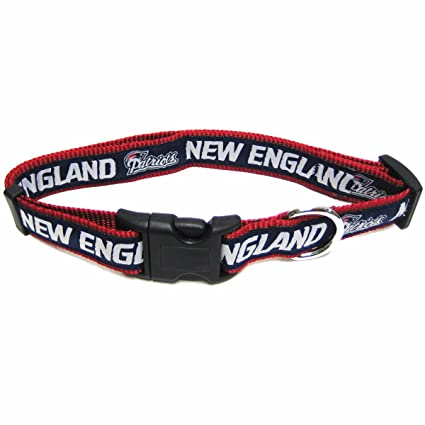 Amazon.com   Pets First NFL New England Patriots Collar 8180d5adf