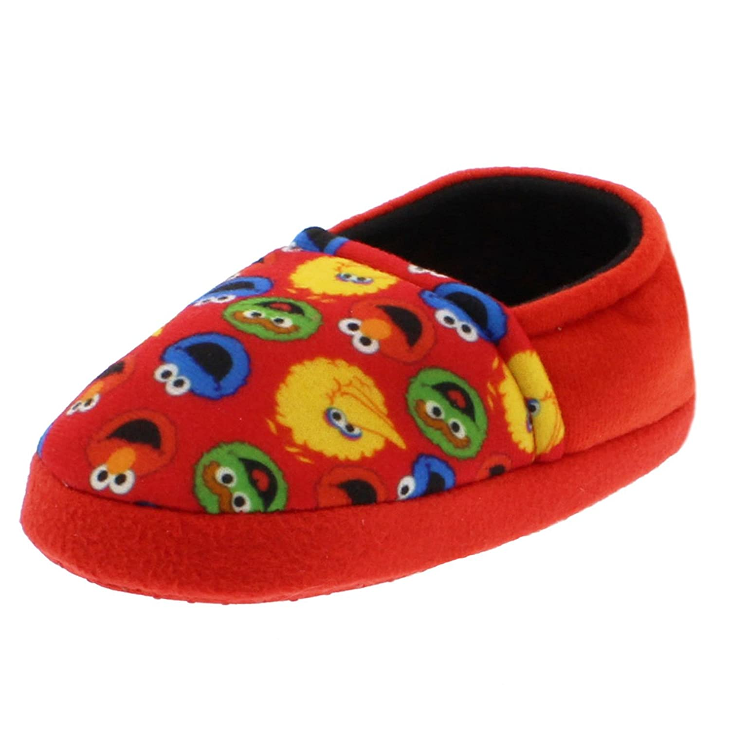 Sesame Street Elmo Cookie Monster Boys Girls Aline Slippers (Toddler/Little Kid)