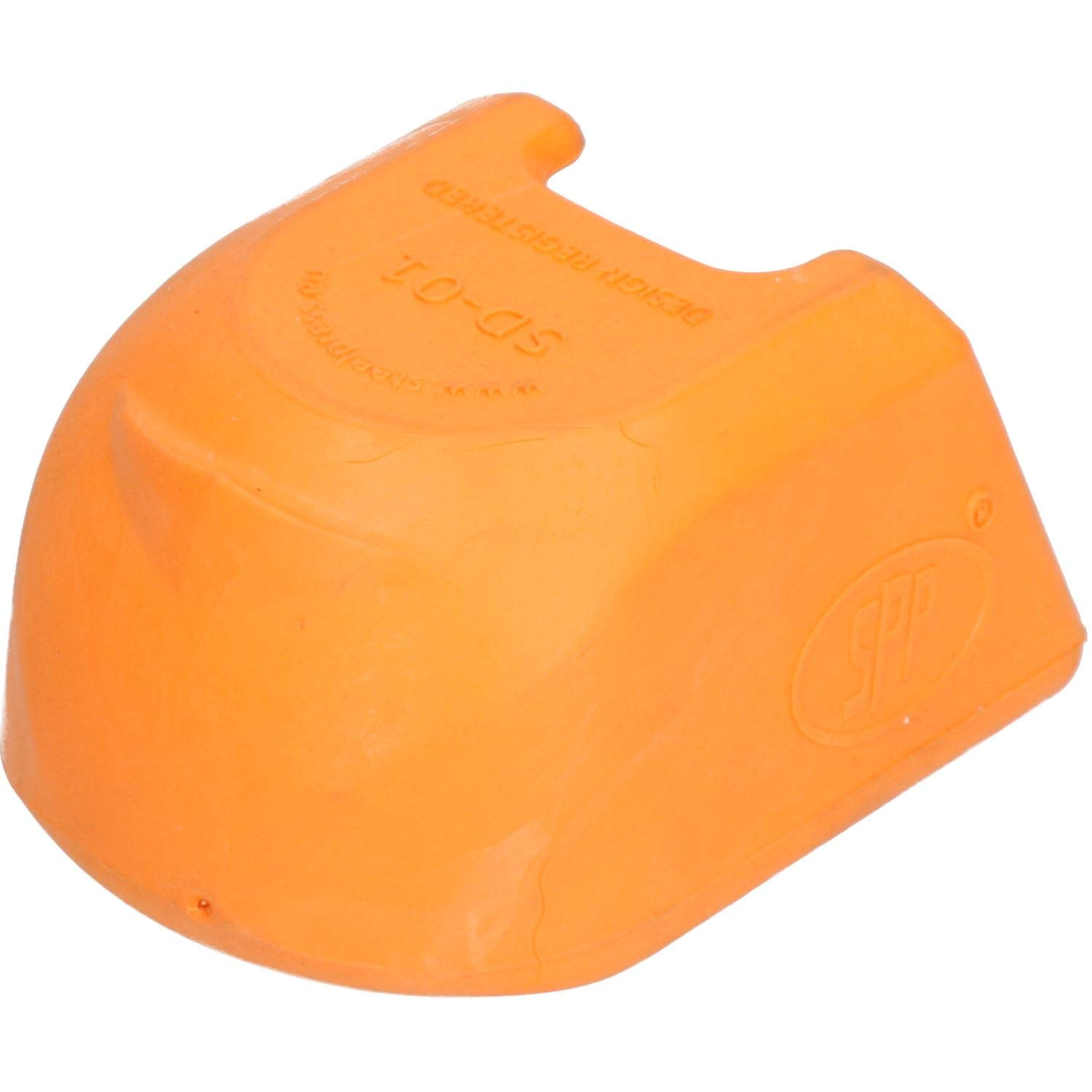 AB Tools Trailer Pressed Steel Hitch Coupling Soft Cover Protector High Visibility Orange