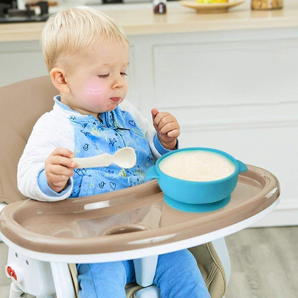 Baby-F/ütterungszubeh/ör Baby Bowl 2er-Pack Silikonschalen Futternapf F/ür Babys Und Kleinkinder Mit Saugfu/ß f/ür Kinder